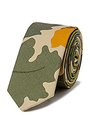 LAWNDALE Necktie - Vine camo olive