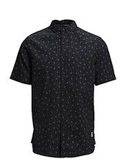 Mens RADFORD Short Sleeve Shirt - Navy