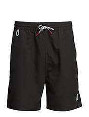 Mens SEAL SWIMMER Plain Short - Black