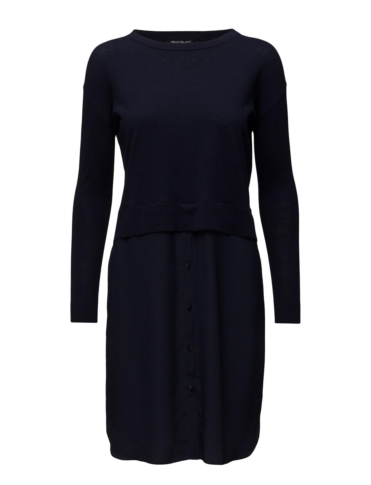 Odissea Pennyblack Korte kjoler til Kvinder i Antracit grå