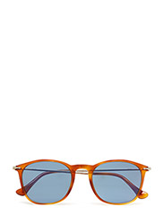 DESIGN - LIGHT HAVANA-CRY. ORANGE GRAD. SILVER MIR.