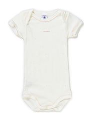 Shortsleeved Body - white/pink