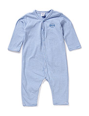 Pyjamas with buttons in front and stripes - Multi
