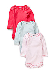 Body 3-pack with long sleeves - Multi 1