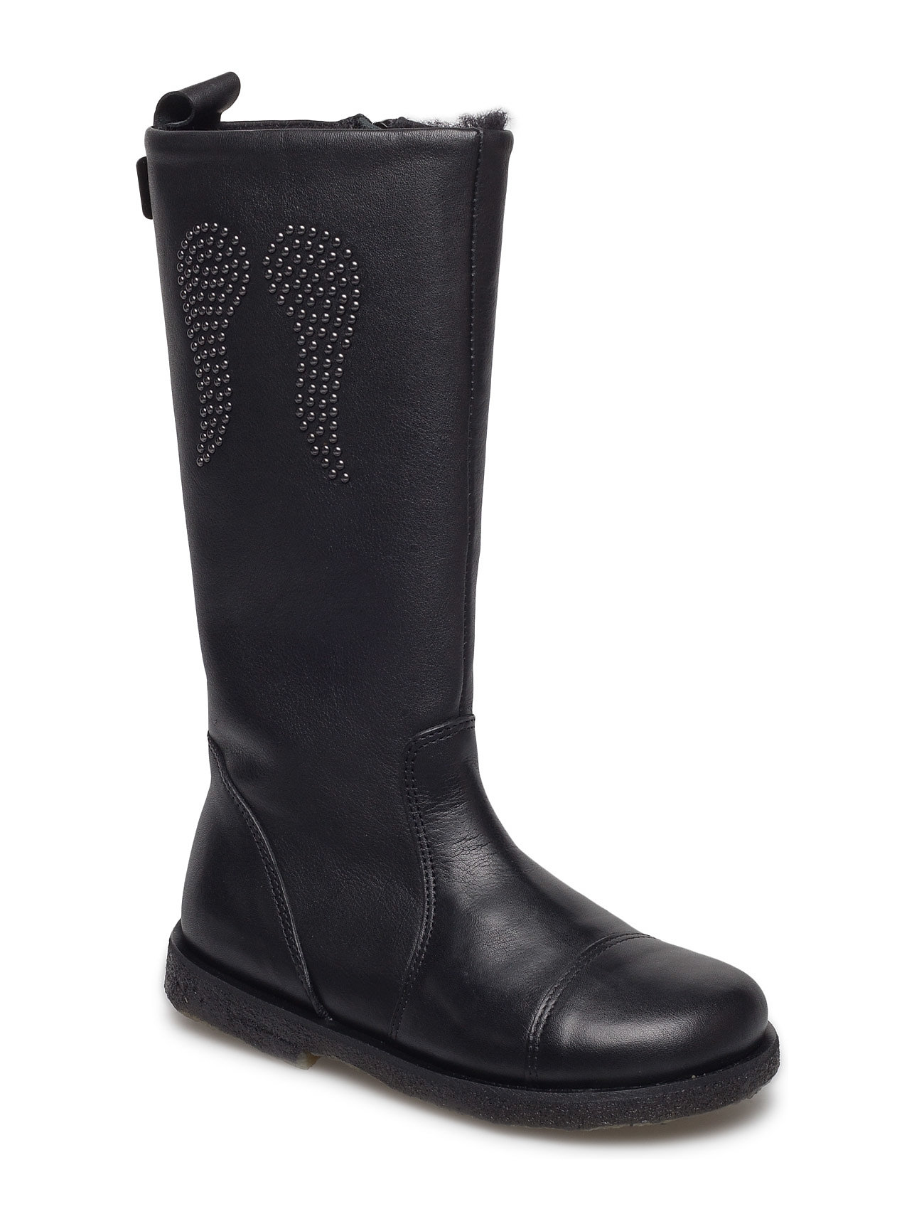 Leather Boot Tex Petit by Sofie Schnoor Støvler til Børn i Sort