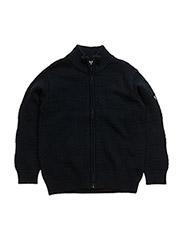 Knit cardigan - D.BLUE