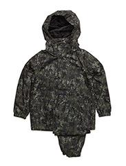 Rain set jacket + pants - OLIVE