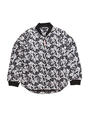 Thermal jacket - BLK FLOWER