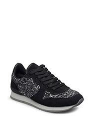 Glitter sneaker - ANTIC SILVER