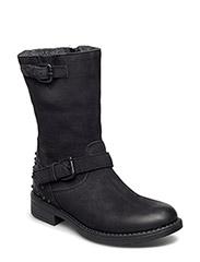 High shaft boot - BLACK