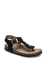 Sandal glitter - BLACK