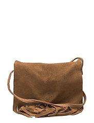 Bag with fringe - TAN