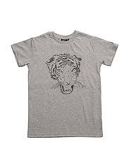 T-shirt short sleeve - GREY MELANGE