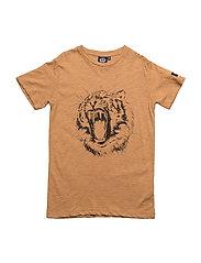 T-shirt short sleeve - RUST