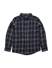 Shirt - BLACK BLUE