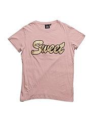 T-shirt loos fit - MAUVE ROSE