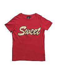 T-shirt loos fit - RED