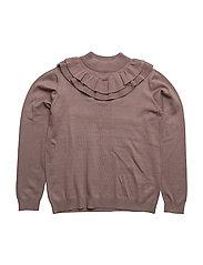 Blouse knit - FADED PURPLE