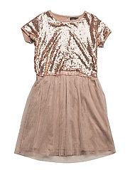Dress - CHAMPAGNE GLITTER