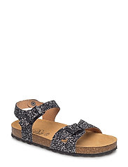 Sandal glitter - BLACK MIX