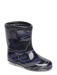Rubber boot baby army - BLUE ARMY PRINT