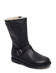 boot w. TEX - BLACK
