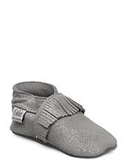 Baby shoe - ANTIC SILVER GLITTER