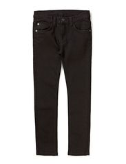 5 pockets denim - BLACK