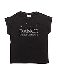 dance t-shirt - BLACK