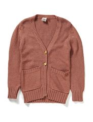 Knitted cardigan - D.rose