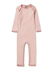 PETIT by Sofie Schnoor Pink nightsuit w. hearts