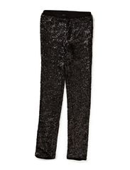 Sequins pants - Black