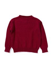 Angora sweater - Burgundy