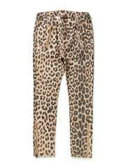 leopard pants - natural leopard