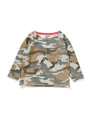 sweat blouse - green army