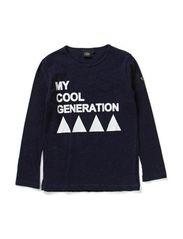 T-shirt - D.BLUE