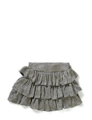 Skirt w. lurex - SILV. GREY