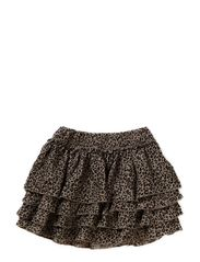 Skirt Leoprint - GREY