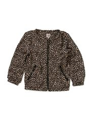 Jacket leo dot - L.ROSE/BLK