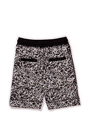 Shorts - grey w. black