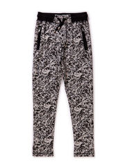 Pants - grey w. black