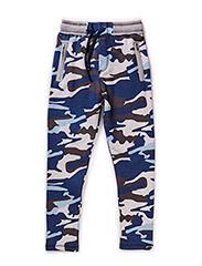 Pants - blue mix