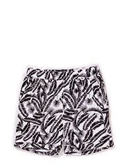 Shorts - black white