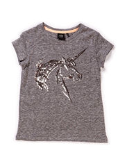 T-shirt w seq - grey melange