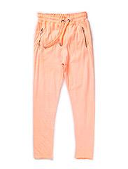 Pants - neon coral