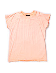T-shirt - neon coral