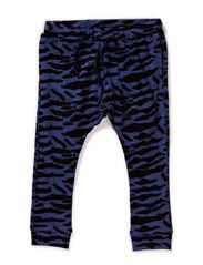 Pants - black blue