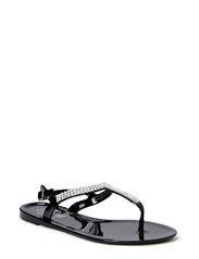 Rubber sandal - BLK
