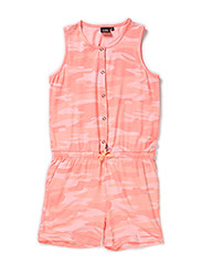 Jumpsuite short leg - mix pink