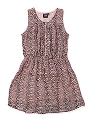 Dress - L Rose/BLK
